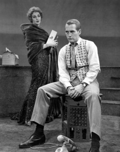 """""""Sweet Bird Of Youth"""" on stageBroadway production, 1962 MGMGeraldine Page, Paul Newman**I.V.  - Image 4354_0001"""