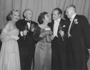 """Academy Awards - 25th Annual""Mary Pickford, Cecil B. DeMille, Gloria Swanson, Bob Hope, Charles Brackett1953**I.V. - Image 4388_0004"
