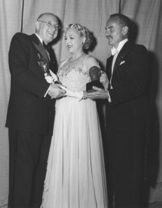 """Academy Awards - 25th Annual""Cecil B. DeMille, Mary Pickford, Darryl Zanuck1953**I.V. - Image 4388_0016"