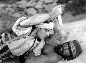 """""""Son of the Sheik, The""""Rudolph Valentino, United Artists, 1926, **I.V. - Image 4408_0005"""