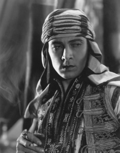 """Son of the Sheik, The"", Rudolph Valentino, United Artists, 1926, Photo by Nealson Smith, **I.V. - Image 4408_0012"