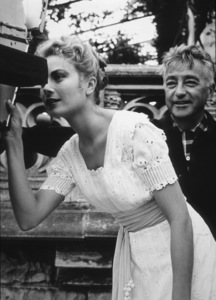 """The Swan""Grace Kelly and director Charles Windsor.1956 MGM / **I.V. - Image 4415_0008"
