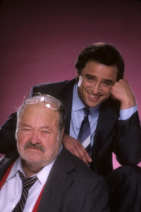 """Jake and the Fatman""Joe Penny, William Conrad1987 © 1987 Mario Casilli - Image 4443_0038"