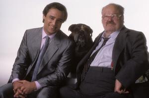 """Jake and the Fatman""Joe Penny, William Conrad1987 © 1987 Mario Casilli - Image 4443_0046"
