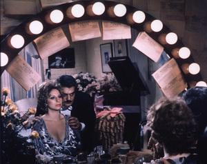 """Funny Lady,""Barbra Streisand, Omar Sharif1975 Columbia © 1978 Mel Traxel - Image 4506_0010"