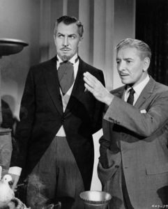 """""""The Story Of Mankind,""""Vincent Price and Ronald Colman.1957 Warner Bros. - Image 4512_0001"""