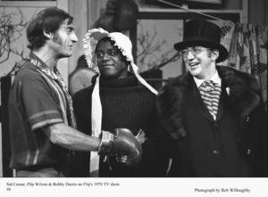 """Flip Wilson Show, The"" Sid Ceasar, Flip Wilson, Bobby Darin1970 NBC © 1978 Bob Willoughby - Image 4543_0023"