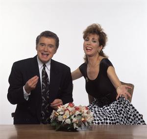 """Live with Regis and Kathie Lee"" Regis Philbin, Kathie Lee Gifford circa 1980s © 1980 Mario Casilli - Image 4546_0006"