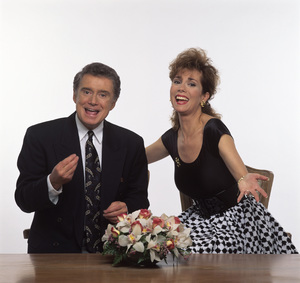 """Live with Regis and Kathie Lee"" Regis Philbin, Kathie Lee Gifford circa 1980s © 1980 Mario Casilli - Image 4546_0006"