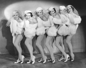 """42nd Street""Chorus Girls1933 Warner Bros.**I.V. - Image 4548_0003"