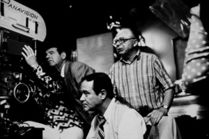 """""""Front Page, The""""Walter Matthau, Jack Lemmon, Dir. Billy Wilder1974 UI © 1978 Gunther / MPTV - Image 4566_0031"""