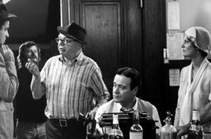 """Front Page, The""Walter Matthau, Dir. Billy Wilder, Jack Lemmon,Susan Sarandon / 1974 U-I © 1978 Gunther / MPTV - Image 4566_0032"