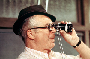 """""""Front Page, The""""Director Billy Wilder on the set1974 U-I © 1978 Gunther / MPTV - Image 4566_0033"""