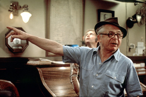"""""""Front Page, The""""Director Billy Wilder on the set1974 U-I © 1978 Gunther / MPTV - Image 4566_0035"""