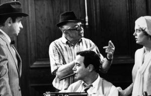 """Front Page, The""Walter Matthau, Dir. Billy Wilder, Jack Lemmon,Susan Sarandon / 1974 U-I © 1978 Gunther / MPTV - Image 4566_0038"