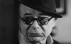 "Billy Wilder, director, on the set of ""The Front Page,"" 1974. © 1978 Bill AveryMPTV - Image 4566_11"