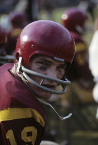 Hal Bedsole playing for the University of Southern California Trojans football team1962 © 1978 David Sutton - Image 4595_0012