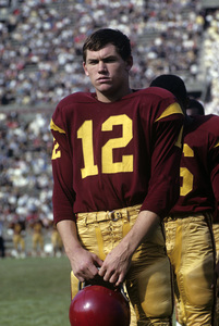 Pete Beathard playing for the University of Southern California Trojans football team1962 © 1978 David Sutton - Image 4595_0013