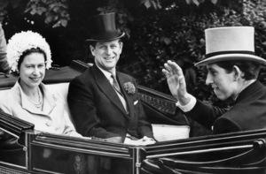 Queen Elizabeth II, Prince Philip and Prince Charlescirca 1960s - Image 4618_0006