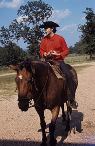 Paul McCartney on a horsecirca 1965 © 1978 Gunther - Image 4643_0154