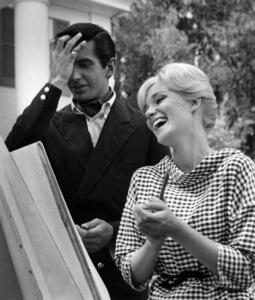 Yvette Mimieux and George Hamilton 1959 © 1978 Lou Jacobs Jr. - Image 4662_0038