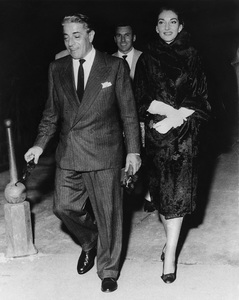 Aristotle Onassis out on the town with Maria CallasSeptember 9, 1959 - Image 4692_0003