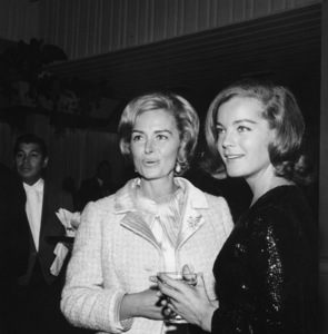 Romy Schneider with Donna Reedcirca 1960sPhoto by Joe Shere - Image 4754_0009