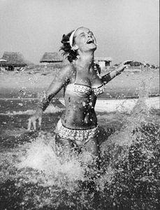 Romy Schneidercirca 1960s © 1978 Sanford Roth / AMPAS - Image 4754_0017