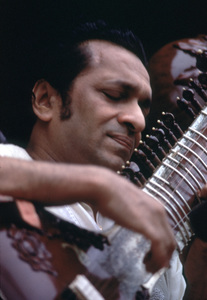 "Ravi Shankar at ""The Monterey Pop Festival""1967 © 1978 Bruce McBroom - Image 4762_0001"