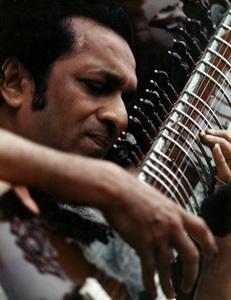 "Ravi Shankar at ""The Monterey Pop Festival"" 1967 © 1978 Bruce McBroom - Image 4762_0002"