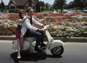 Roy Thinnes and Lynn Loringcirca 1960s© 1978 Gene Trindl - Image 4782_0011