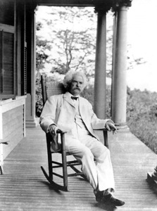 Mark Twainc. 1890 - Image 4789_0001