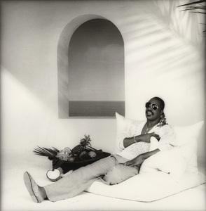 Stevie Wonder in Los Angeles 1986 © 1986 Bobby Holland - Image 4804_0016