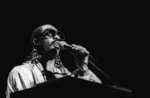 Stevie Wonder performing live in Los Angeles, CAcirca 1975© 1978 Bobby Holland - Image 4804_0049