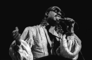 Stevie Wonder performing live in Los Angeles, CAcirca 1975© 1978 Bobby Holland - Image 4804_0050