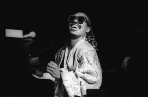 Stevie Wonder performing live in Los Angeles, CAcirca 1975© 1978 Bobby Holland - Image 4804_0053