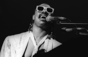 Stevie Wonder performing live in Los Angeles, CAcirca 1975© 1978 Bobby Holland - Image 4804_0054