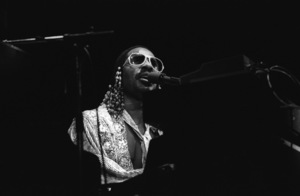 Stevie Wonder performing live in Los Angeles, CAcirca 1975© 1978 Bobby Holland - Image 4804_0055