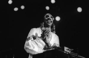 Stevie Wonder performing live in Los Angeles, CAcirca 1975© 1978 Bobby Holland - Image 4804_0056