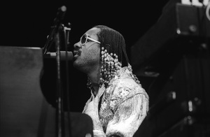 Stevie Wonder performing live in Los Angeles, CAcirca 1975© 1978 Bobby Holland - Image 4804_0058