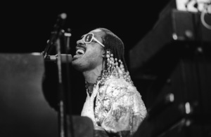Stevie Wonder performing live in Los Angeles, CAcirca 1975© 1978 Bobby Holland - Image 4804_0059
