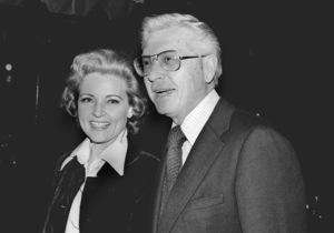 Betty White with husband Allan Ludden atan ABC Affiliate Party, 1974 © 1978 Kim Maydole Lynch - Image 4808_0023