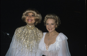 "Carol Channing and Betty White at ""The 33rd Annual Tony Awards""1979© 1979 Gary Lewis - Image 4808_0038"