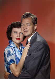 """Betty White and Bill Williams in """"Date with the Angels""""1957© 1978 Gene Howard - Image 4808_0063"""
