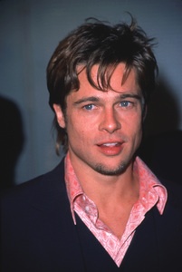 "Brad Pitt at the Premiere of ""Fight Club,""10/6/99. © 1999 Glenn Weiner - Image 4811_0011"