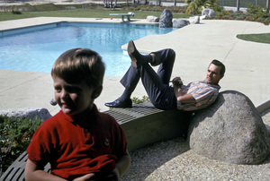 Dennis Weaver with his son, Rusty Weaver1963 © 1978 Gene Trindl - Image 4813_0009