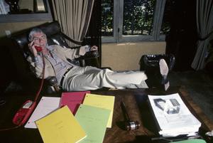 Aaron Spelling at home1979 © 1979 Gene Trindl - Image 4814_0008