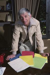 Aaron Spelling at home1979 © 1979 Gene Trindl - Image 4814_0036