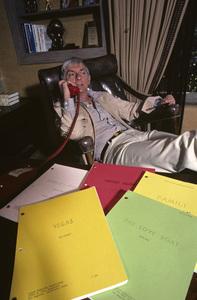 Aaron Spelling at home1979 © 1979 Gene Trindl - Image 4814_0038