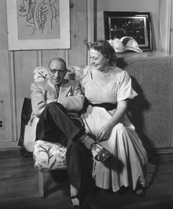 Igor Stravinski at home with his wifecirca 1950 © 1978 Tom Kelley - Image 4817_0016